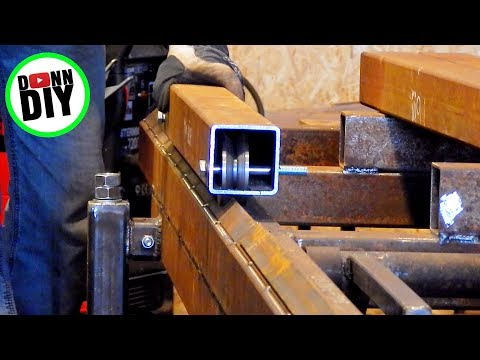 Homemade Portable Band Sawmill Build #13 - The Carriage