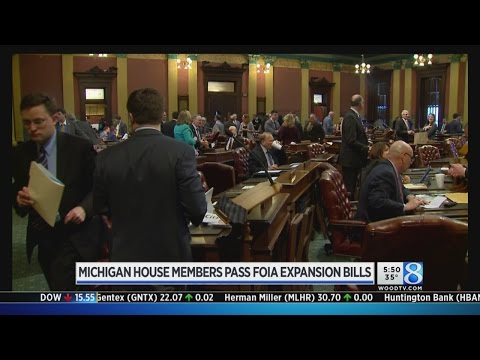 Michigan House members pass FOIA expansion bills