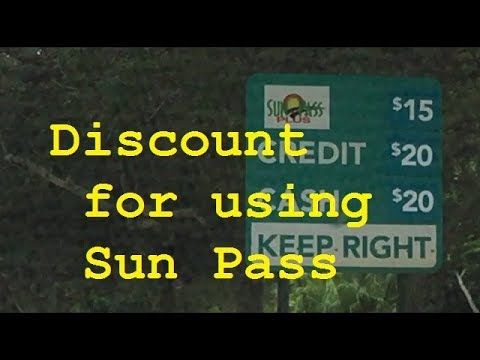 Sun pass for Parking at the Hard Rock Stadium at a Discount