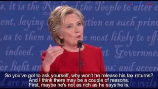 First 2016 U.S. Presidential Debate: Clinton vs. Trump
