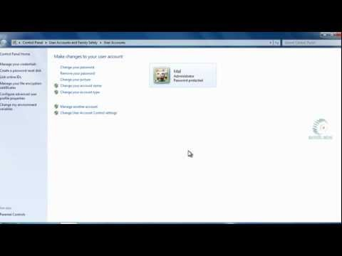 How to change your Windows 7 password