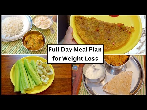 Full Day Weight Loss Meal Plan || Indian Healthy Recipes