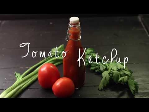 Tomato Ketchup / Sauce Recipe – How to make Tomato ketchup at home