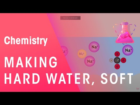 Learn how to turn Hard Water into Soft Water | The Chemistry Journey | The Fuse School