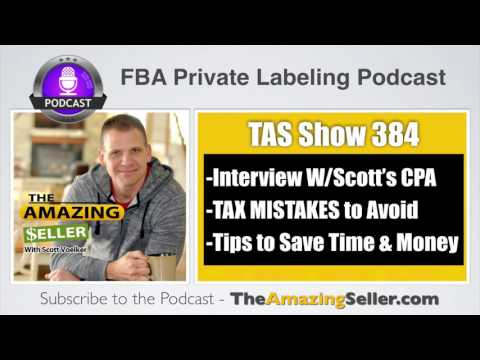 TAX MISTAKES to Avoid & How to Run a Amazon Business by Josh Bauerle -TAS 384 – The Amazing Seller