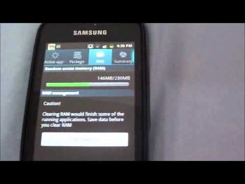 Speeding up a Galaxy Device