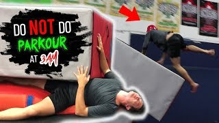 DO NOT DO PARKOUR AT 3 AM!! *CAN
