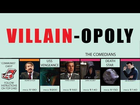 My custom Monopoly, Villain-Opoly