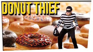 WS - Thief Hands Out Donuts During Robbery ft. Anthony Lee & DavidSoComedy