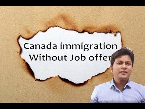 Canadian Visa without Job Offer Letter