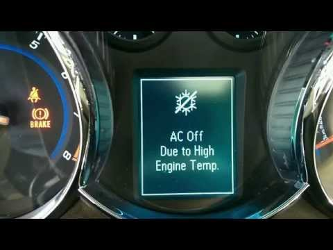 Chevy Cruze AC Off Due to High Engine Temp