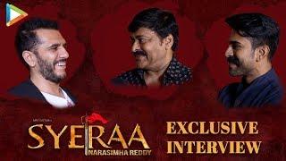 "EXCLUSIVE – Chiranjeevi: ""THANKS to Baahubali we could…"" | Sye Raa | Ram Charan | Ritesh"