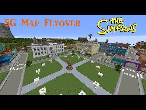 Minecraft: Springvival Games Map Flyover!