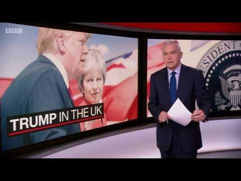 Donald Trump in the UK