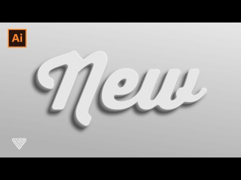 3D Effect | Text Effect Tutorial | Adobe Illustrator