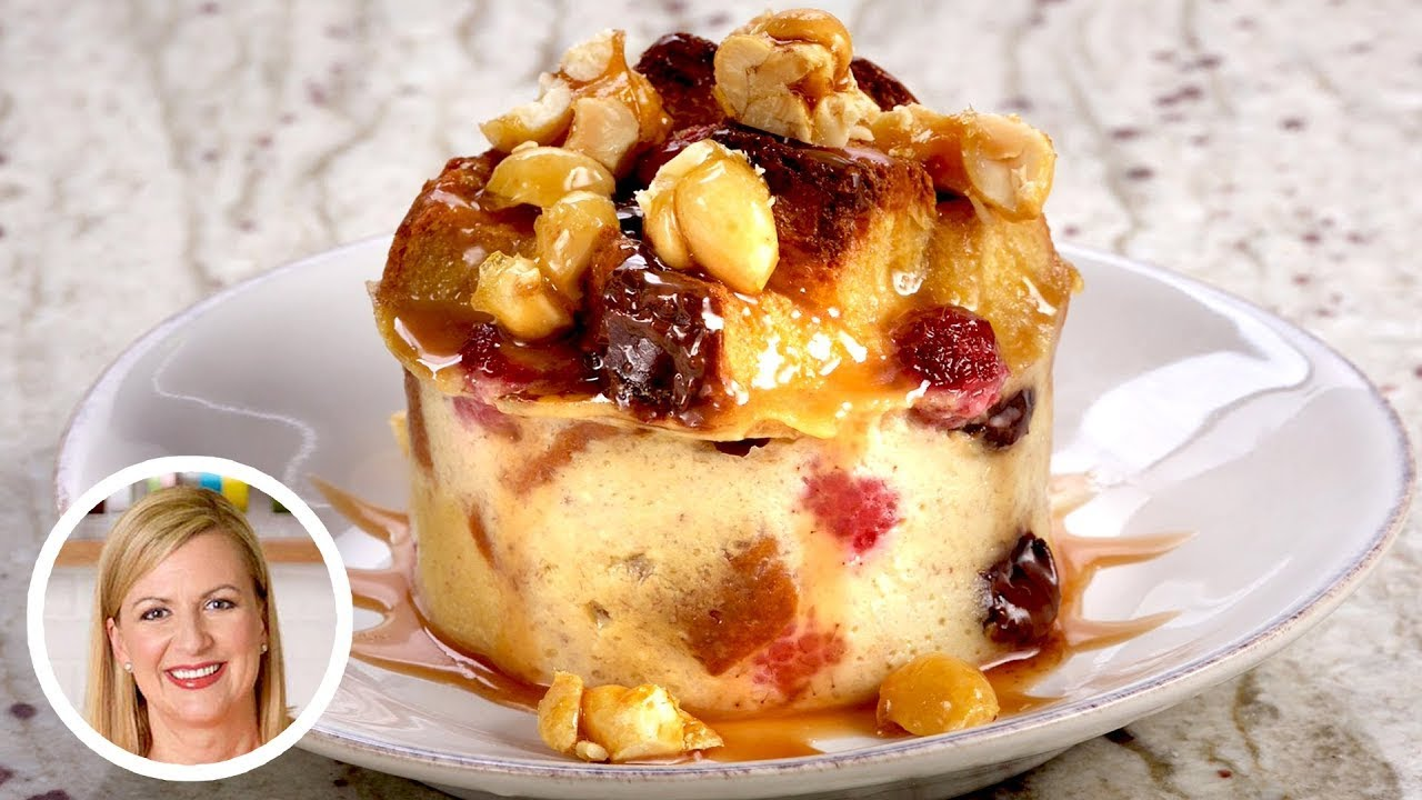 Professional Baker Teaches You How To Make BREAD PUDDING!