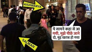 When Salman Khan and Aishwarya Rai Meet Face to face at Mumbai Airport | Then see what happened next