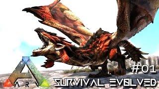 ARK: SURVIVAL EVOLVED - DRAGON KING MONSTER DRAKE & RYU E58