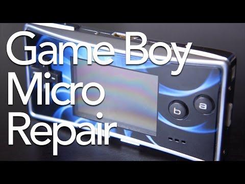 Game Boy Micro Faceplate Repair