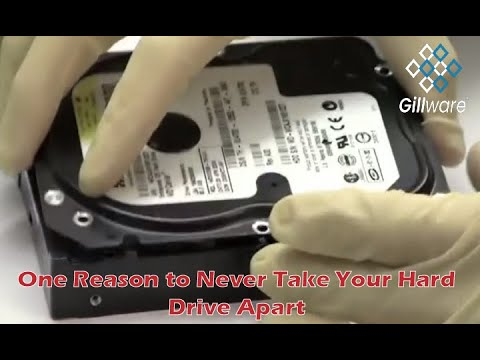 One reason to never take your hard drive apart