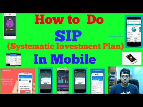 How to  do SIP from Home |  Online SIP in Mobile | Mutual Fund Android APP
