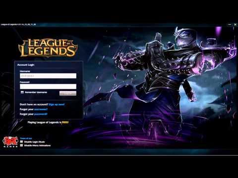 Shen - Custom Login Screen League of Legends