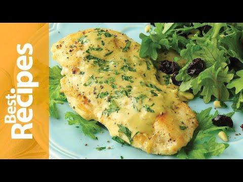 Chicken with Dijon Mustard Sauce - BestRecipes with Drew Maresco