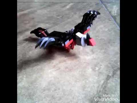 How to build a lego Pokémon Yveltal.
