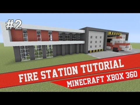 Fire Station Tutorial - Minecraft Xbox 360 #2