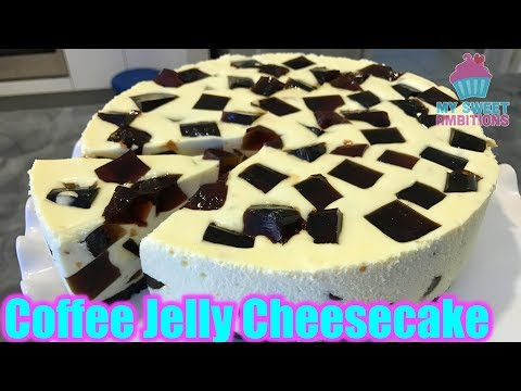 Coffee Jelly Cheesecake