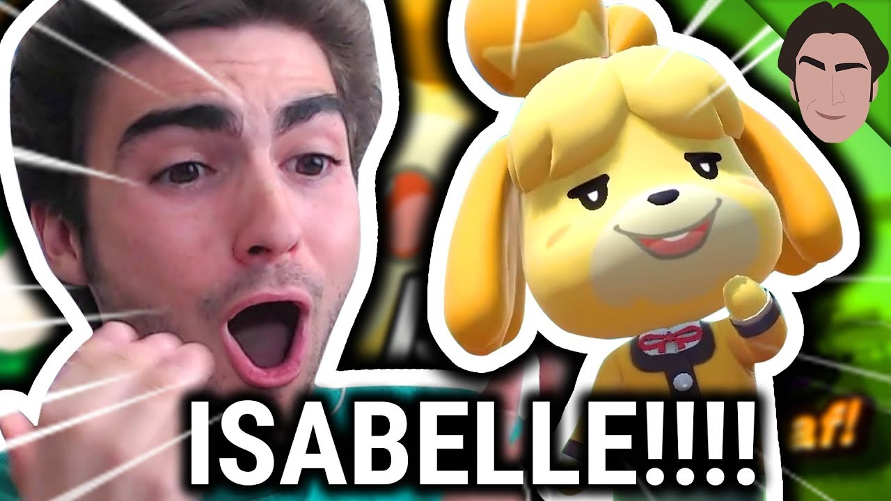 ISABELLE IN SMASH + NEW ANIMAL CROSSING!! Nintendo Direct Reaction!