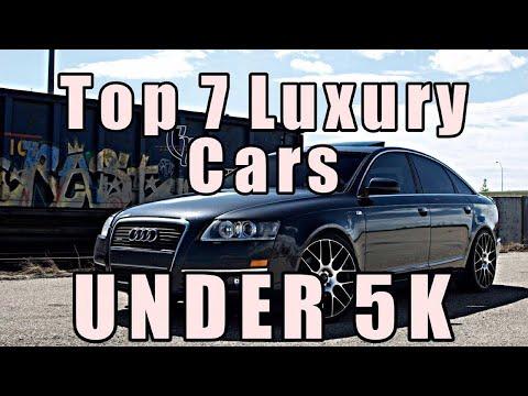 Top 7 Luxury Cars Under 5k