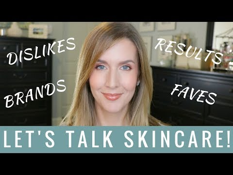 Skincare Favorites 2018 | Product and Brand Chat | Skincare Addict Tag !