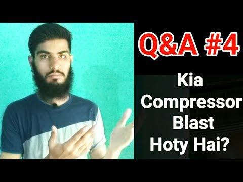 Compressor blast,gas restore ac,Ramadan mubarak | Q&A #4 | Fully4world