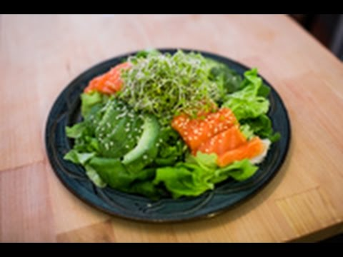 Sushi Salmon Salad