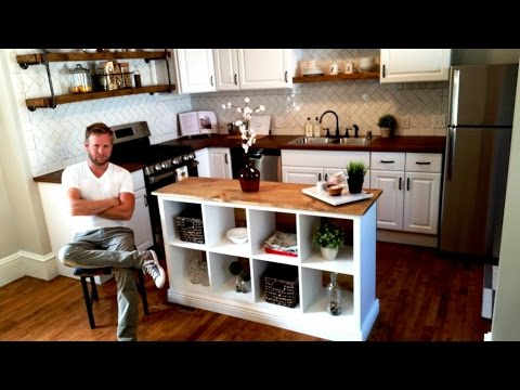 IKEA HACK - Kitchen Island DIY Project