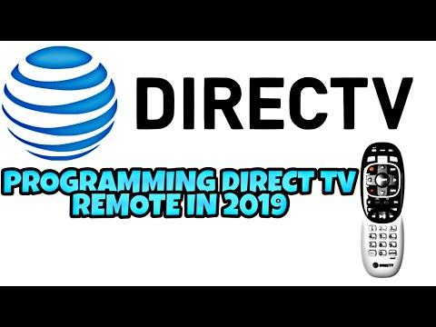 Programing Direct Tv remote to Genie DVR