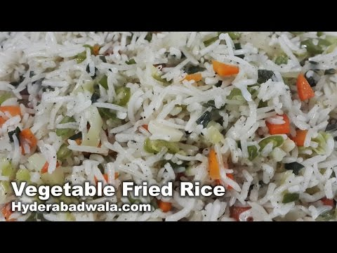 Vegetable Fried Rice Recipe Video – How to Make Vegetable Fried Rice at Home – Very Easy & Simple