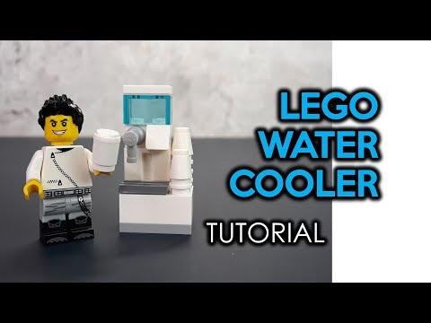 How to Build a LEGO Water Cooler