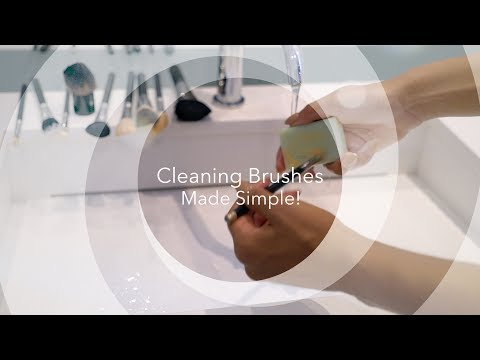 Cleaning Your Makeup Brushes Made Simple! | Chanel Coco Brown