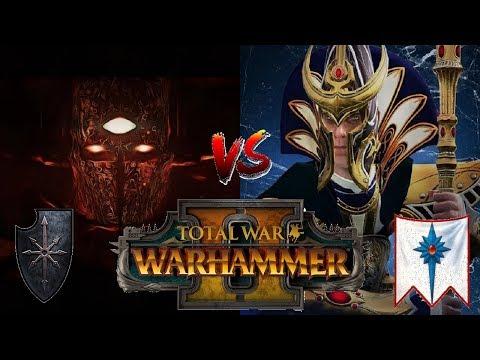 Chaos vs High Elves   Archaon 2.0 : Total War Warhammer 2