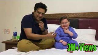 Sajjad Jani With Cute Ahmad Shah - Sajjad Jani Urdu Official
