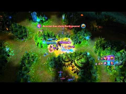 League of Legends   Jayce In Action [ Quadra kill   UnOfficial Pentakill ]