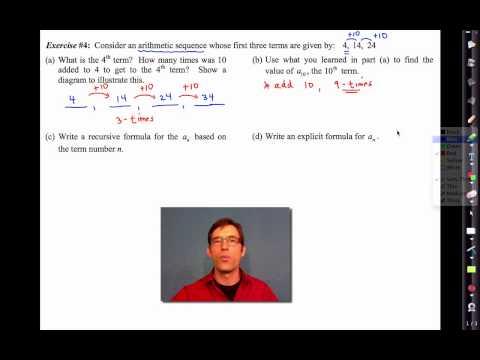 Common Core Algebra I.Unit #4.Lesson #13.Arithmetic Sequences by eMathInstruction