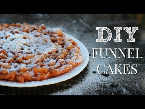 How to Make FUNNEL CAKES