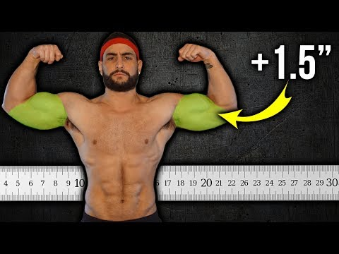 Get BIGGER Arms (Add 1-1.5