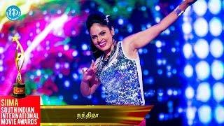 Nandita Dazzling Dance Performance    SIIMA 2014 Awards