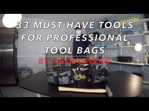 33 Must-Have Tools for Professional Tool Bags by CoKnowPro (YouTube)