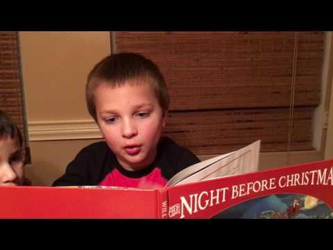 Zachary reading