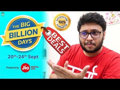 BEST DEALS FROM FLIPKART'S BIG BILLION DAY SALE 2017 ! [Hindi]